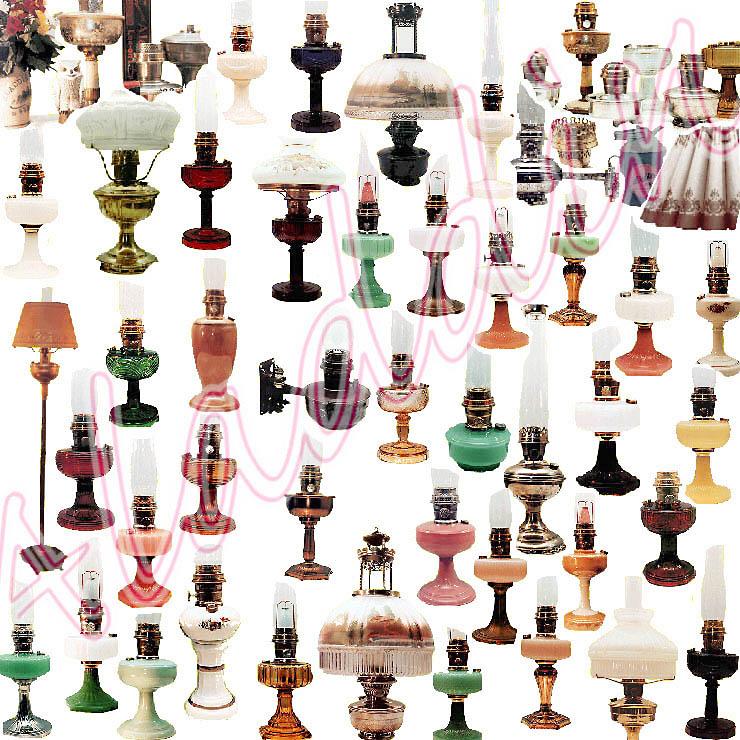 Aladdin Lamps A Collage Of My Aladdin Kerosene Oil Lamp